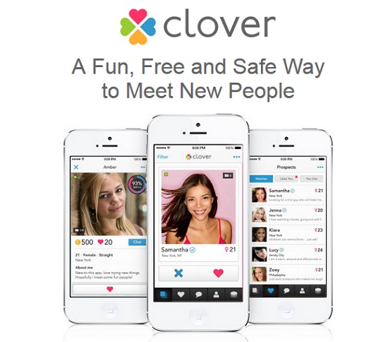 What is clover dating app
