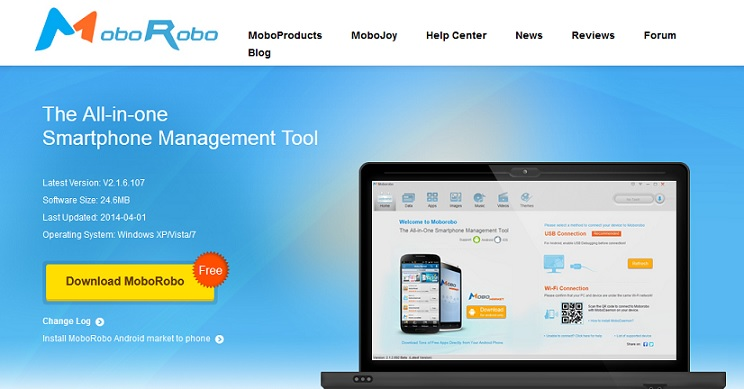 Download moborobo 5. 1. 1. 308.