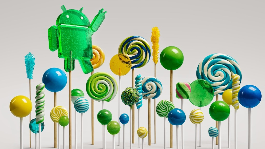new Android OS Lollipop